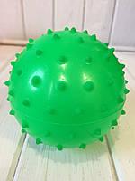 Массажный мячик 10 см салатовый Bambi, фото 1