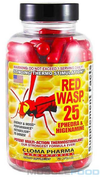 Cloma Pharma Red Wasp caps 75