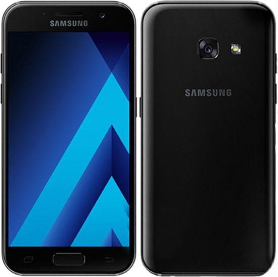 """Смартфон Samsung A520F Galaxy A5 2017 (SM-A520FZKD) Black, 3/32Gb, 8 ядер, 16/16Мп, 5.2"""", 2 sim, 4G, 3000мАh."""