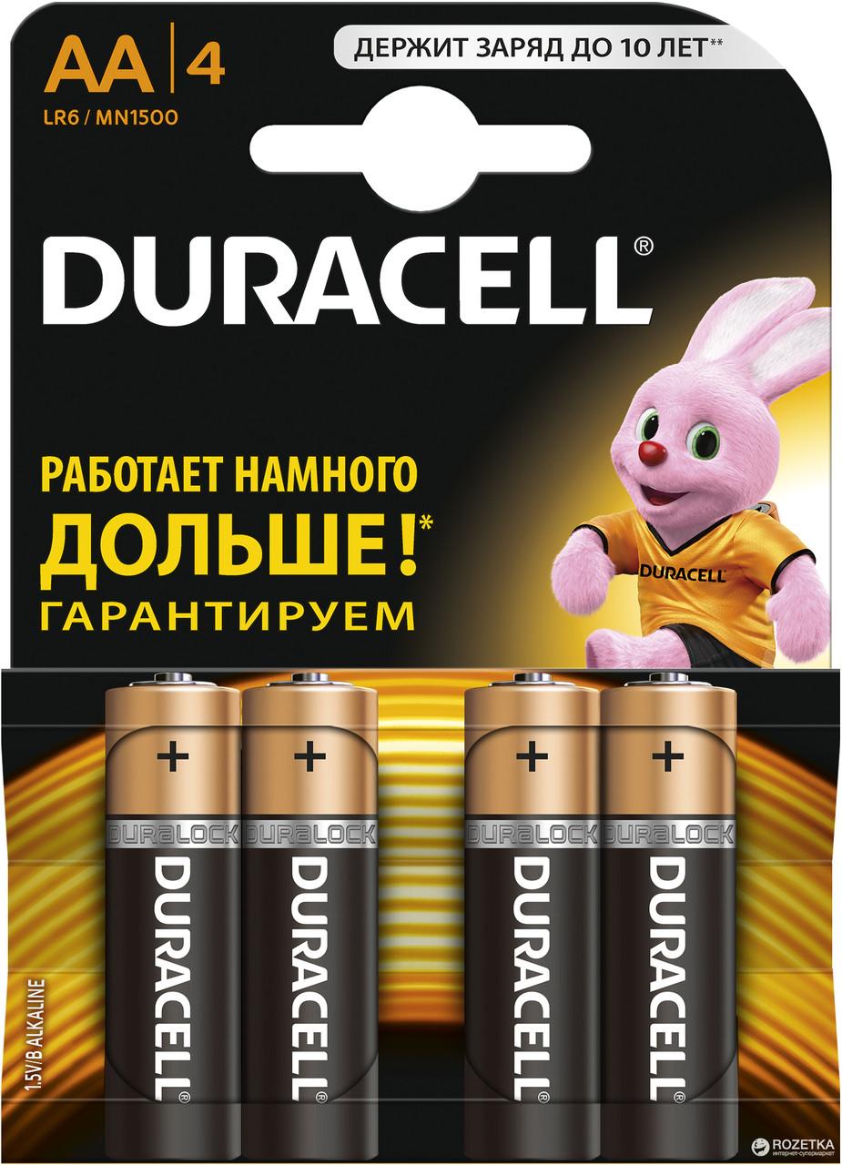 Батарейки Duracell AA 1.5V LR6
