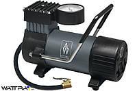 Компрессор AUTO WELLE AW01-19 автомобильный, металлический, встроенный фонарь 12V 12A 30 l/min 100PSI