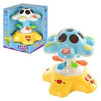 Ночник - проектор музыкальный Цветок Joy Toy, 7164-A, 003872
