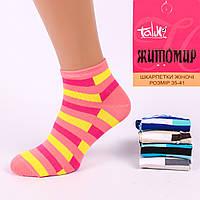 Женские короткие носки. Житомир Talko 2311-4. В упаковке 12 пар.