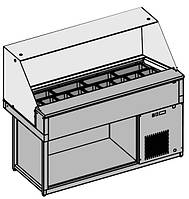 Витрина холодильная Tecfrigo Strike 6+6 VDSP