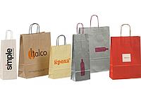 Бумажные пакеты с логотипом в Киеве, Харькове , Одессе