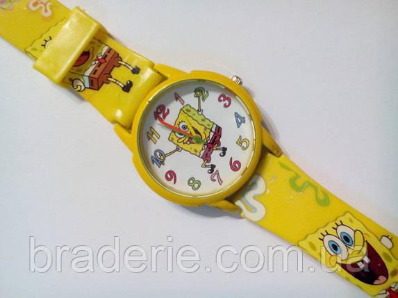 Часы наручные детские Sponge Bob желтые, фото 2