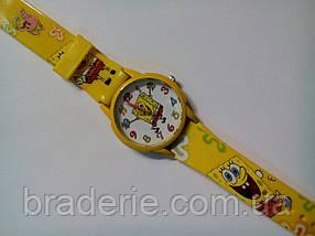 Часы наручные детские Sponge Bob желтые, фото 3