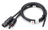 Коннектор-кабель для солнечных батарей MC4 (внутренний) 2,5кв.мм, фото 1