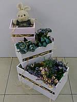 Набор декоративных ящиков, 3 шт