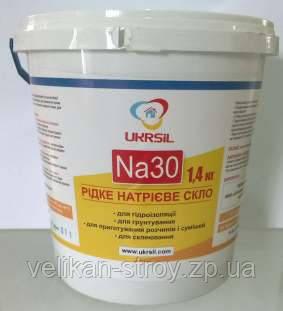 Жидкое натриевое стекло NA30, 3л
