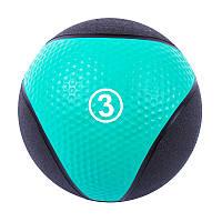 Мяч медбол удобный IronMaster 3кг, d=22см, фото 1