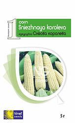 Семена кукурузы Снежная королева F1 5 г Vinel' Seeds