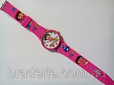 Часы наручные детские Даша следопыт розовые, фото 2