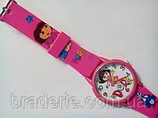 Часы наручные детские Даша следопыт розовые, фото 3
