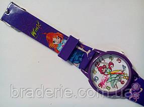 Часы наручные детские Winx-02 фиолетовые, фото 3