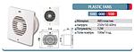 Вентилятор вытяжной 12 Вт 100мм, фото 2