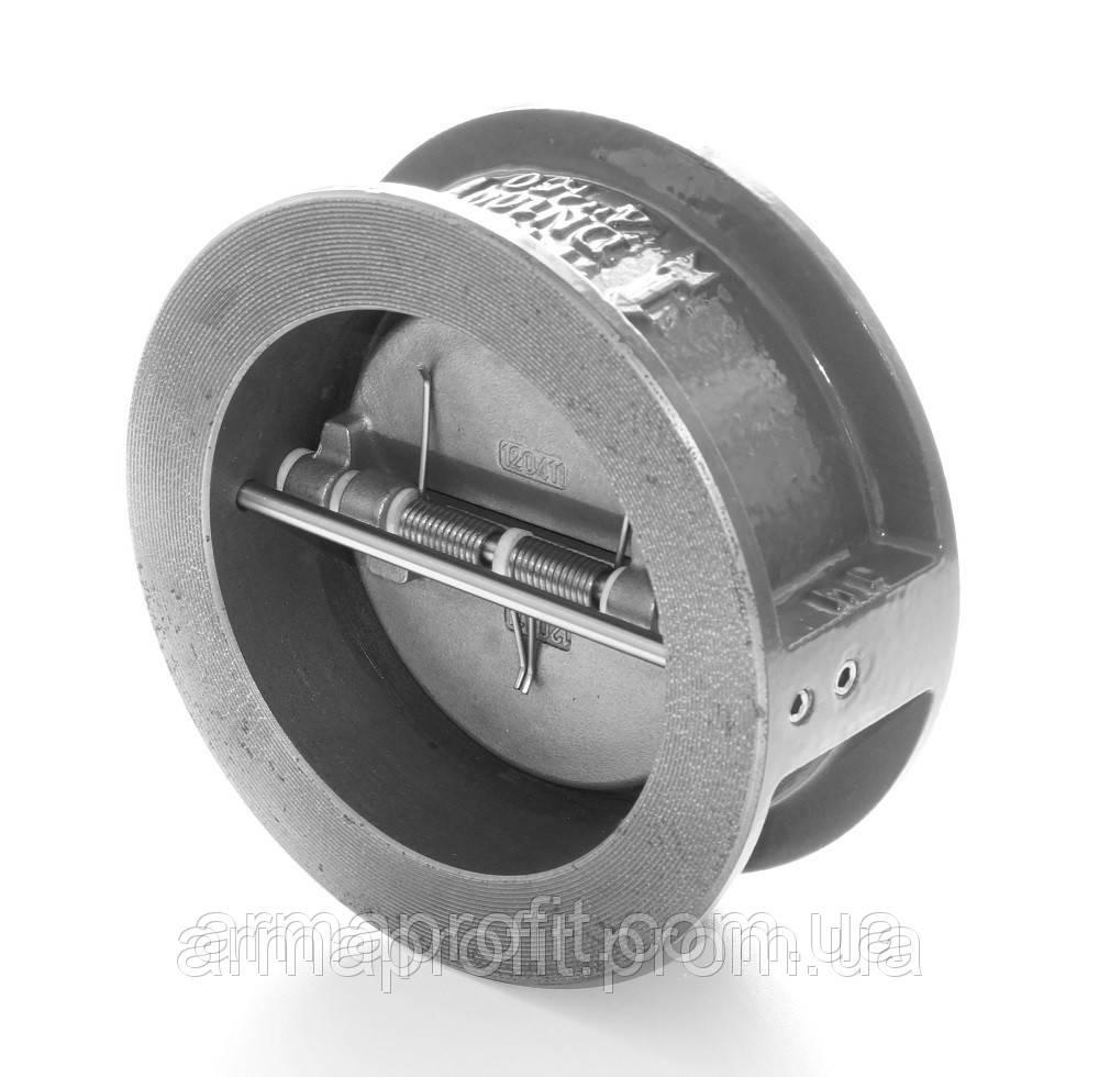 Клапан обратный межфланцевый двухстворчатый GENEBRE тип 2401 Ду150 Ру16