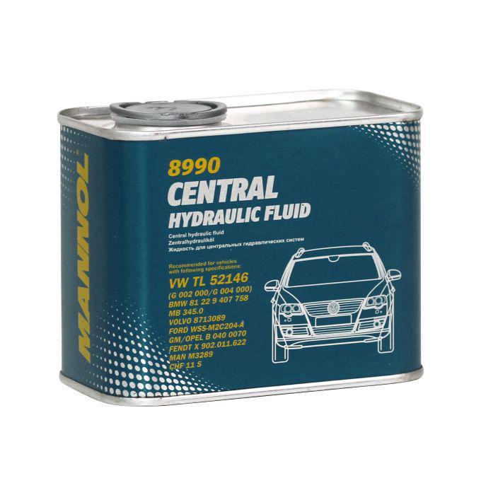 Масло Mannol 8990 Central Hydraulic Fluid зеленое 0.5л