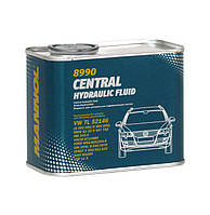 Масло Mannol 8990 Central Hydraulic Fluid зеленое