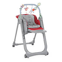 Детский стульчик 2018 Chicco Polly Magic Relax red