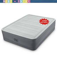 Intex 64904 (137x191x46 см.) Надувная кровать  Встроенный насос 220 В, фото 1