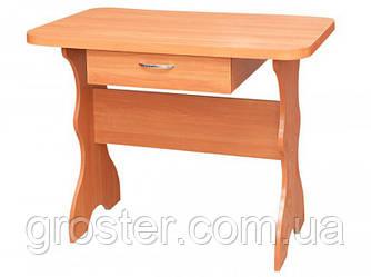 Простой кухонный стол с ящиком. Обеденный стол