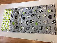 Спальный мешок для деток до 5 лет ( забавные совы)