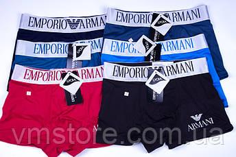 Трусы мужские в стиле бренда Emporio Armani, черный, L (48), фото 3