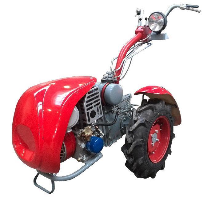 Мотоблок бензиновый Мотор Сич МБ-8Э (8 л.с., электростарт, 4+2 скор., сцепное устройство)