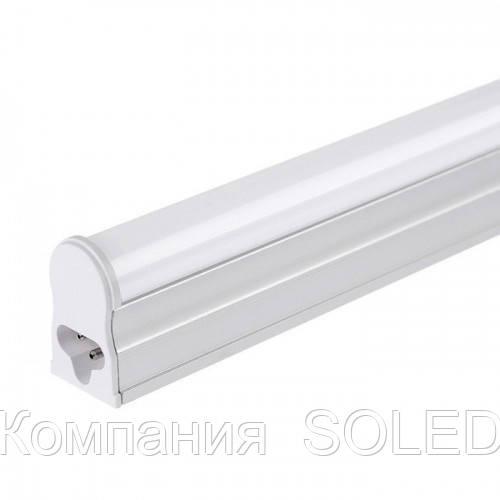 Led светильник T5 4w IP20 4200K 360Lm с кнопкой 300mm