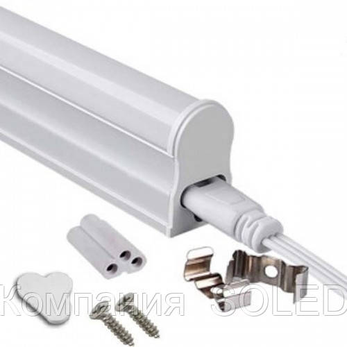 Led светильник T5 12w  IP20  4200K 1080Lm с кнопкой 900mm