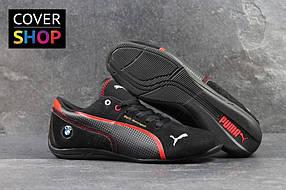 Кроссовки мужские Puma BMW Motosport, материал - замша, черные 41