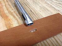 Просечка (пробойник) для вырубки овальных отверстий в коже 10 мм * 4 мм, артикул СК 6047