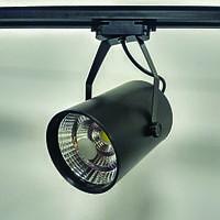 Трековый LED светильник 30W 4000K/6000K черный корпус 3000lm COB LX
