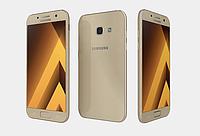 """Смартфон Samsung A320F Galaxy A3 2017 (SM-A320FZDD) Gold, 2/16Gb, 8 ядер, 13/8Мп, 4.7"""", 2 sim, 4G, фото 1"""