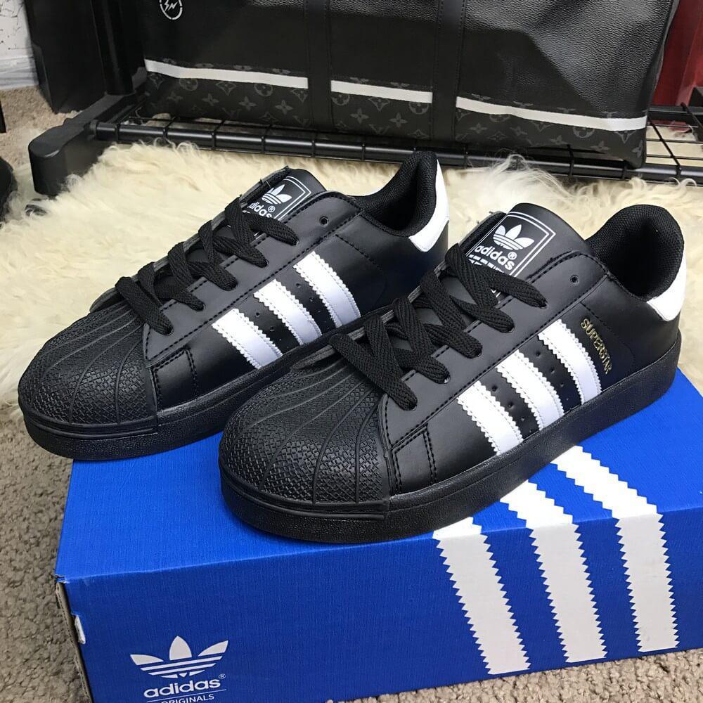 Кроссовки Adidas Superstar Core Black — в Категории