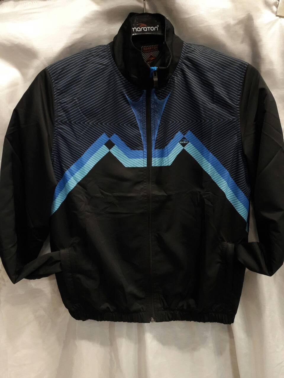 Костюм мужской спортивный Maraton черный с синим
