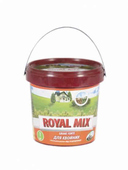 Удобрение гранулированное для хвои от пожелтения ROYAL MIX 1кг