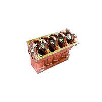 Блок цилиндров Д-245-06 МТЗ-1025 (3 втулки р/вала) (пр-во ММЗ) 245-1002001-04