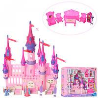 Замок 8011  принцессы, 32см, мебель, фигурки, в кор-ке, 51-40-9,5см