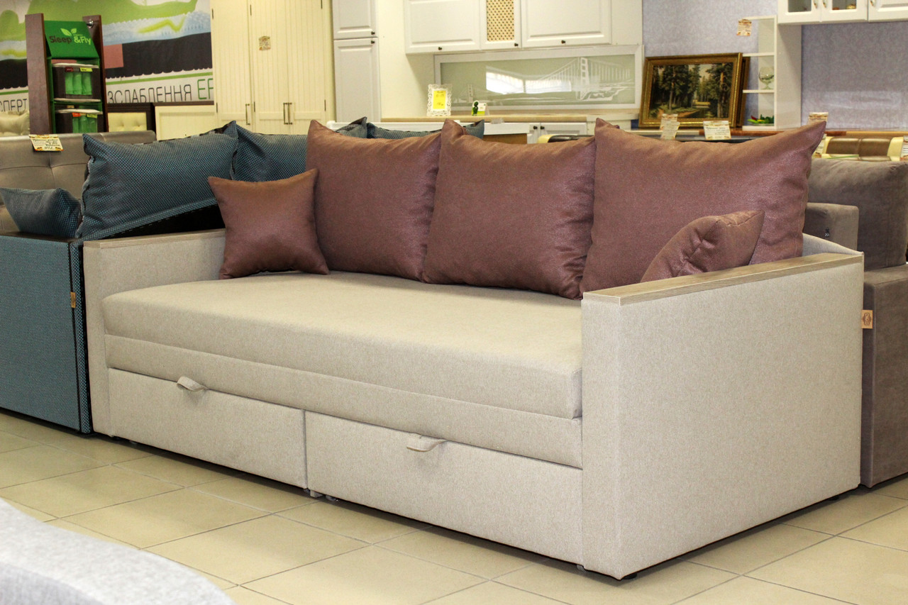 Раскладной диван с большим спальным местом