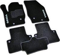 Коврики Volvo XC90 (2002-2015) /Чёрные ворсовые
