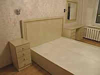 Кровать МДФ патина светлая под матрац(с) 2000*1600 Орхидея 2