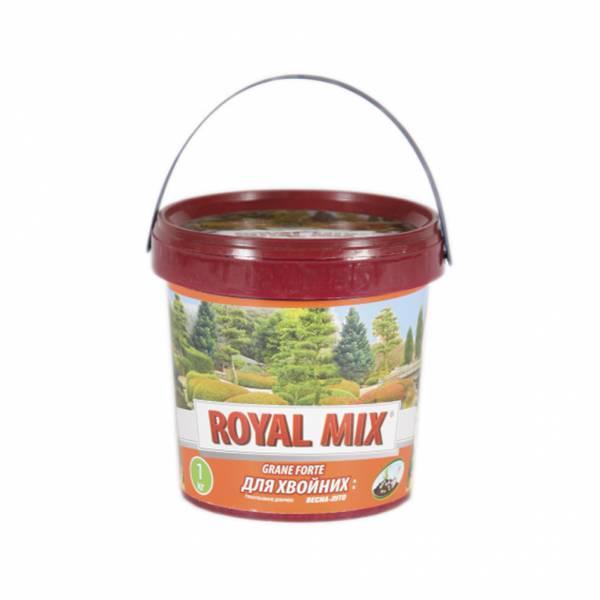 Удобрение гранулированное для хвои весна-лето ROYAL MIX 1кг