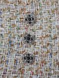 Пуговицы круглые, 18 мм, ручная работа, эмаль, камни., фото 3