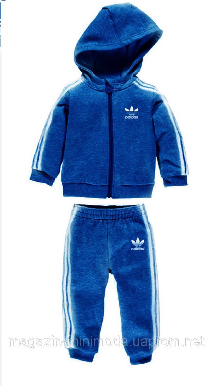 2a27a0cd Детский спортивный костюм Adidas на мальчика, синий - Интернет-магазин  детской одежды