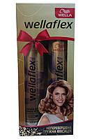 """Набор """"Wellaflex"""" Неперевершена пружна фіксація (лак объем для тонких волос+ лак мгновенный объем)"""