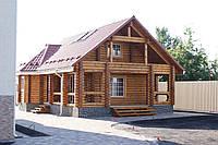Деревянная баня и сауна из сруба
