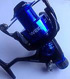 Катушка Weida HB-40, 3bb с байтранером, фото 2