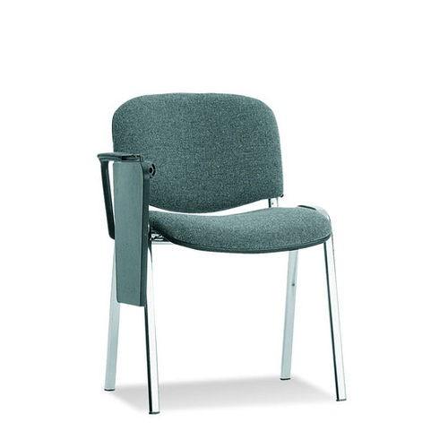 Стул для зала заседаний Исо хром со столиком